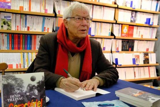 Denis Tillinac s'est éteint dans la nuit du vendredi 25 au samedi 26 septembre. Un an jour pour jour après Jacques Chirac dont il était proche. © Dominique PARAT