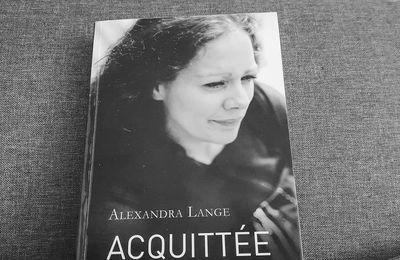 Acquittée d'Alexandra Lange