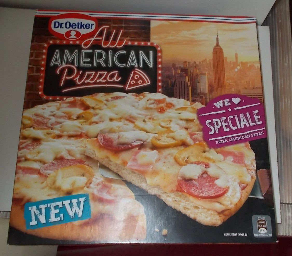 Dr. Oetker All American Pizza Speciale