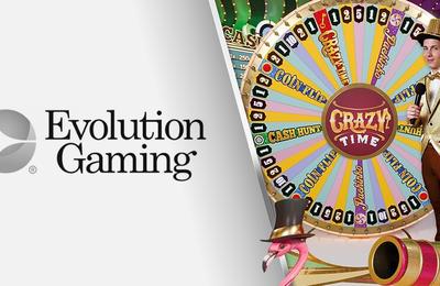 Jouer au jeu de casino live en ligne Crazy Time en Suisse