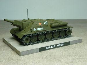 Impression 3D : Char russe SU-122 au 1/50 (par Jean-Charles)