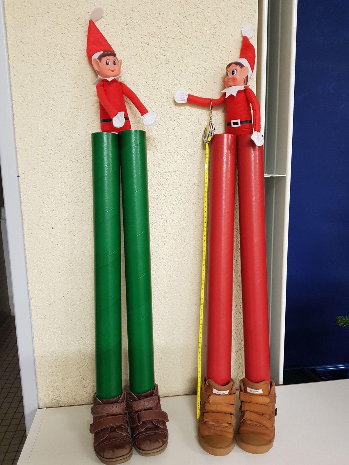 Les elfes de Noël