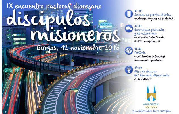 Encuentro Pastoral Diocesano: DISCÍPULOS MISIONEROS