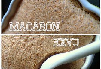 Macakeron au chocolat, ou la deuxième vie d'un projet de macarons
