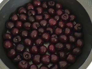 préparation clafoutis cerises