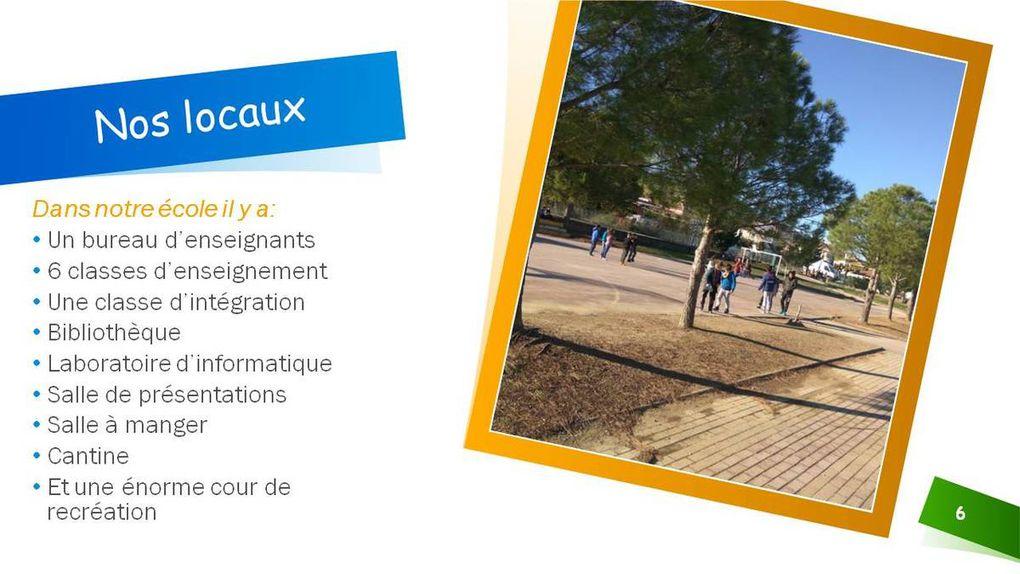 PRESENTATION ECOLE PRIMAIRE DE GAVALOU