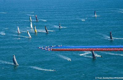 Vendée Globes: les 33 marins sont déjà loin des sables d'Olonne