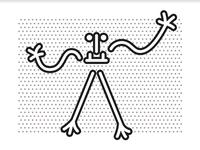 Quand les Dromoglyphes s'affichent en Martinique...