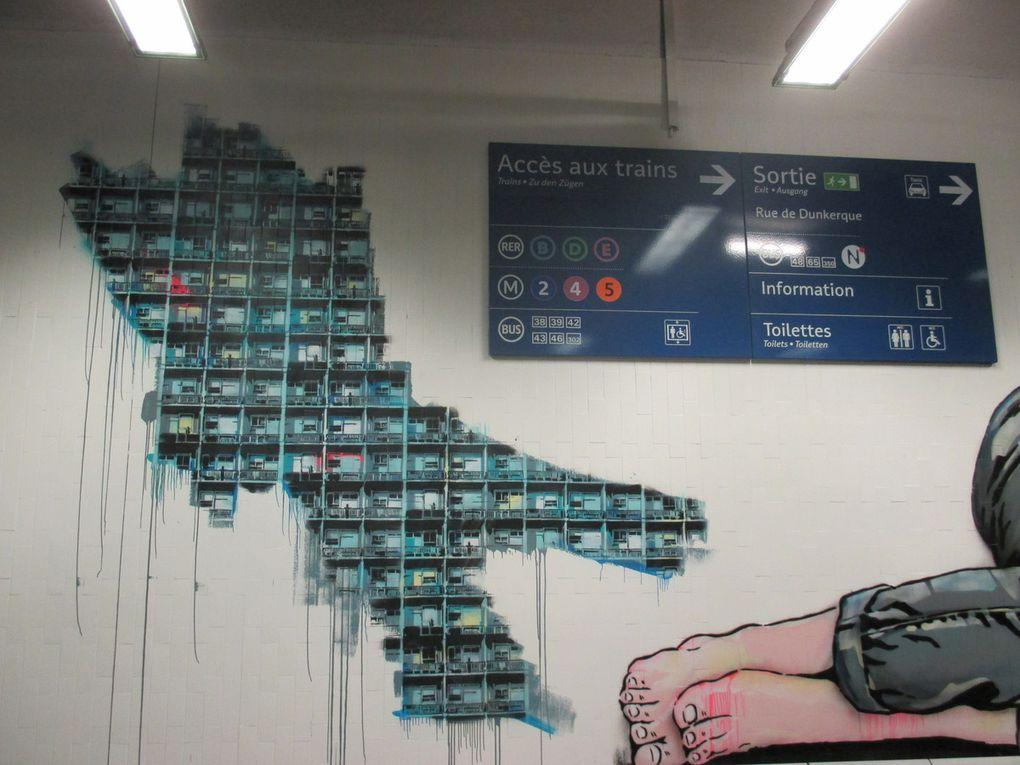 QUai 36 - Gare du Nord - Paris