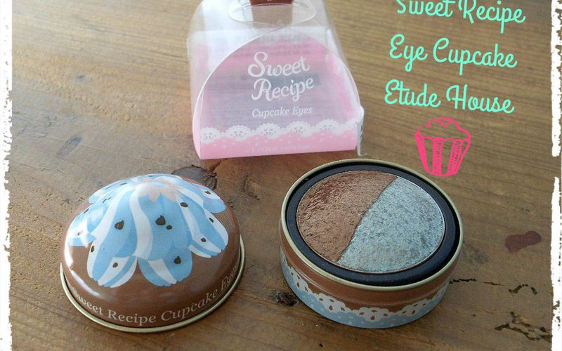 Sweet Recipe, Eye Cupcake d'Etude House en Mint & Chocolate