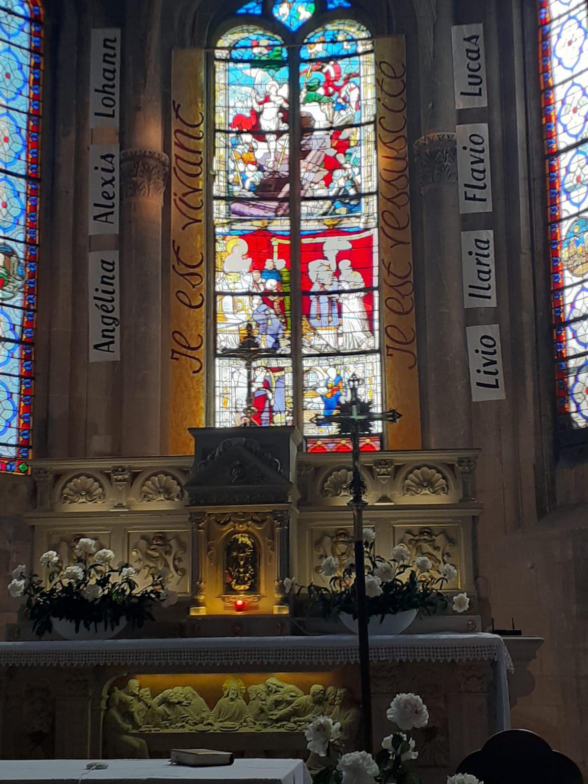 La Première Communion à Groslay - Pierwsza Komunia w Groslay