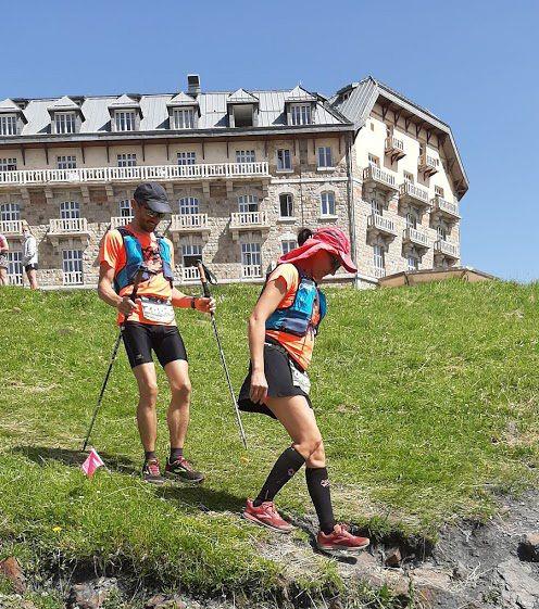 Trail Aquaterra à Bort les Orgues et Trail de l'ANETO à Luchon.