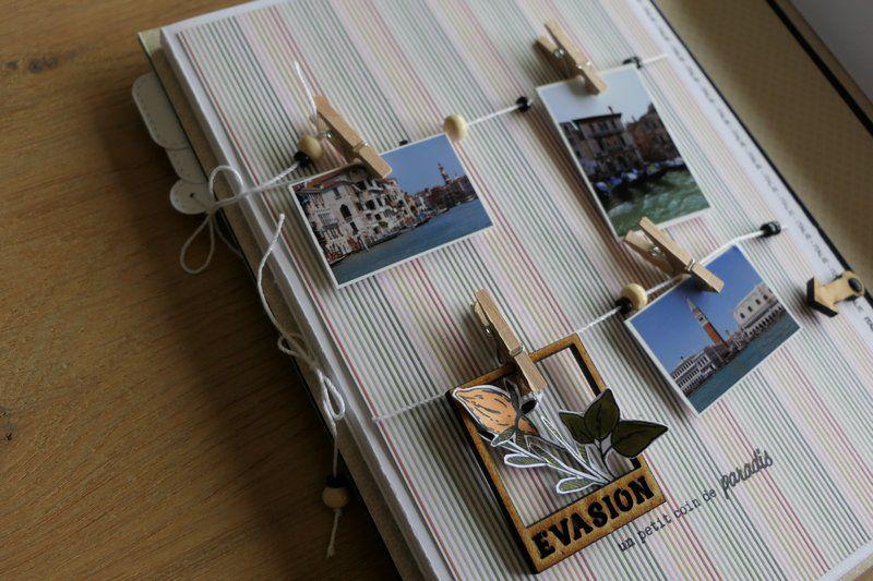 """Mylène : Album Kit du mois """"Carnet de souvenirs"""""""