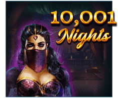 machine a sous mobile 10 001 Nights logiciel Red Tiger Gaming