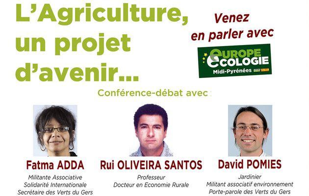 Avec Europe Ecologie : L'Agriculture, un projet d'avenir...