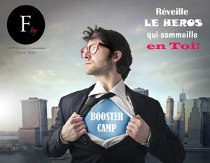 booster camp Charles Brillet