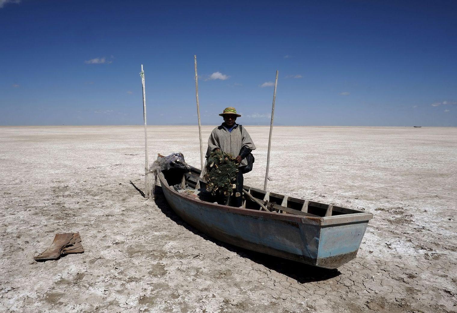 Le lac Poopó a disparu