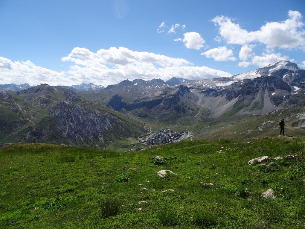 DH à Tignes, secteur de Palafour pour le premier jour (Savoie - 11/08/2019