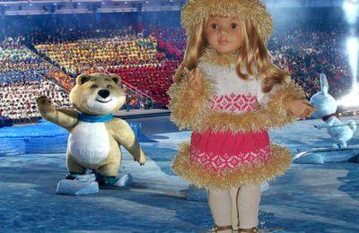 Marta à l'ouverture des Jeux olympiques