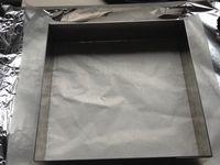 carrés gourmandises spéculos chocolat blanc