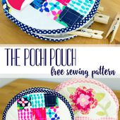 Free Pattern and Tutorial: The Pochi Pouch {part 1}