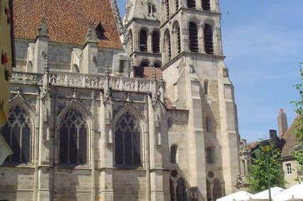 La cathédrale Saint-Lazare.