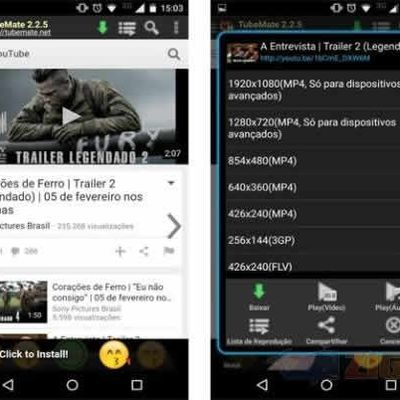 TubeMate YouTube Downloader, descargar videos de youtube desde android