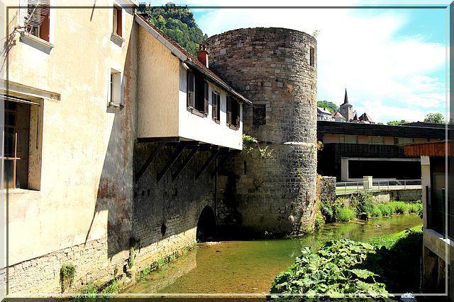 Diaporama fortifications de Salains les Bains