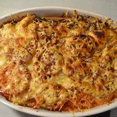 Gratin courgettes tomates cookeo |