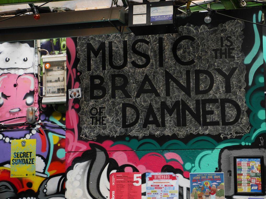 Street art à Dublin