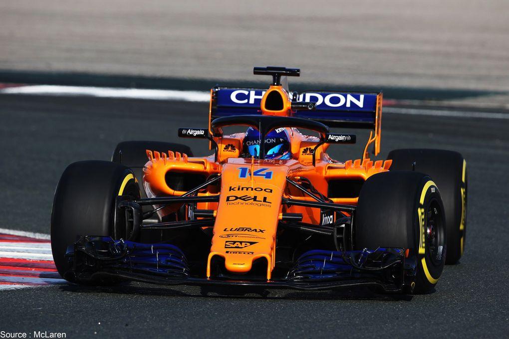 McLaren passe à l'orange