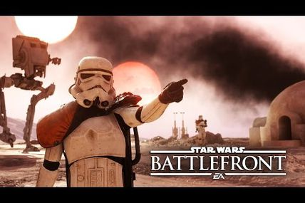 Star Wars Battlefront Gameplay - Trailer de lancement
