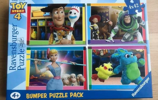 Pack 4 puzzles Toy Story 4 Ravensburger