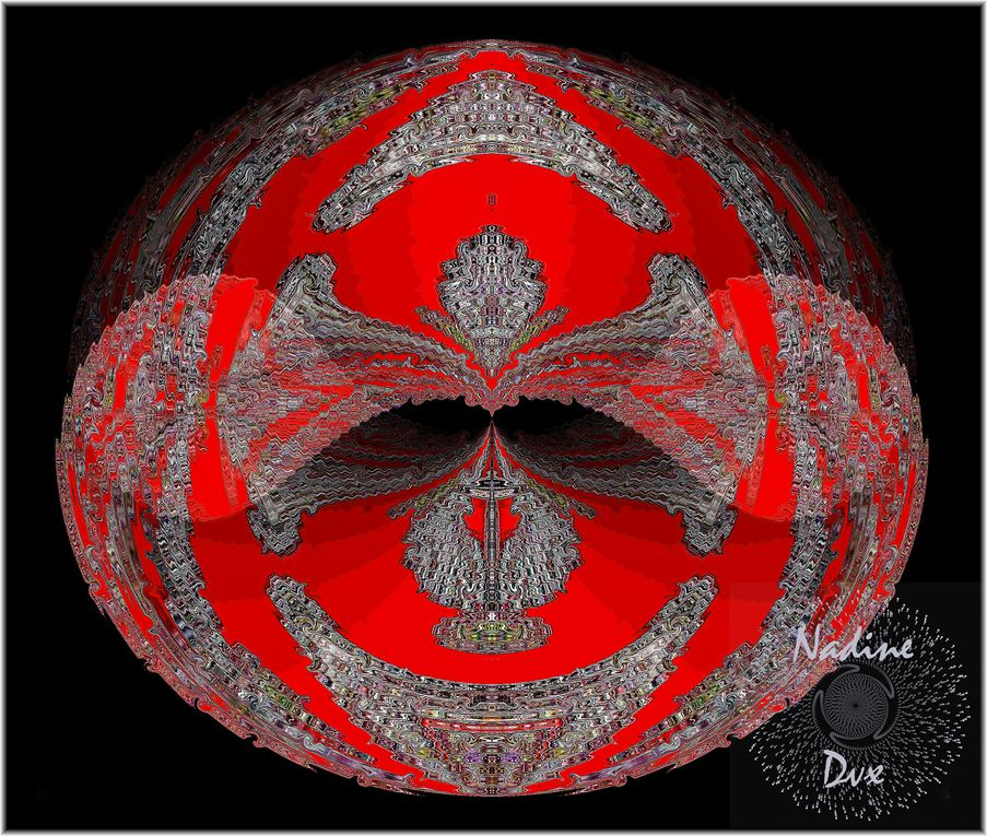 Create Mandalas, kaléidoscopes with Photoshop's Symmetry - Mandalas - Nadine Dvx