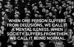 Totalitarismo - ¿Cómo llegar? La fabricación de una psicosis de masas: ¿puede la razón volver a un mundo insensato?