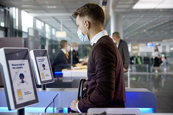 Touchless Travelling with Biometrics at Frankfurt Airport