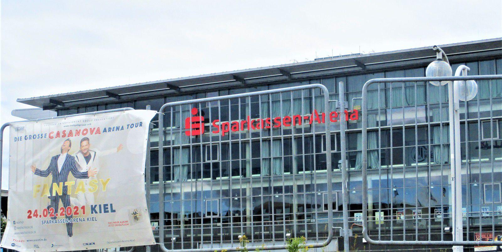 Ostseehalle Kiel, heute Sparkassen-Arena  Heimat vom Rekordmeister THW Kiel