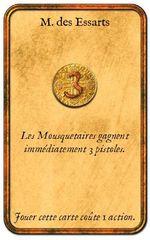 Mousquetaires du Roy: les cartes personnages