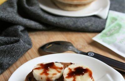 Fluffy pancakes { sans gluten, sans lait, sans œufs }