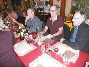 Un repas au Cerfs de Kerfulus pour bien démarrer la saison 2019...