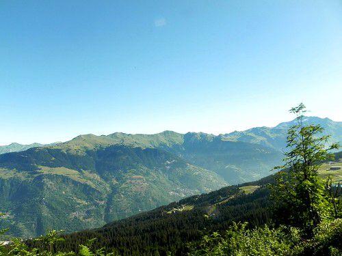 Randonnée au Col et Crêtes de la Loze à Méribel avec l'ADAPAR le 23 Août 2013