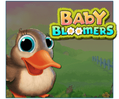 machine a sous mobile Baby Bloomers logiciel Booming Games