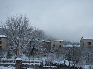 La Mure La neige est revenue le 13 décembre
