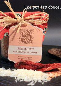SOS Soupe de lentilles corail