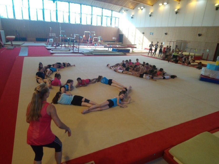 Les gymnastes compétition du CMOV Gym ont clôturé leur saison