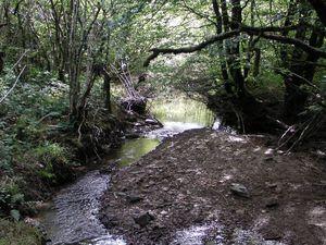 L'ombrage et l'eau rencontrée nous font oublier la fournaise de septembre de la plaine narbonnaise...