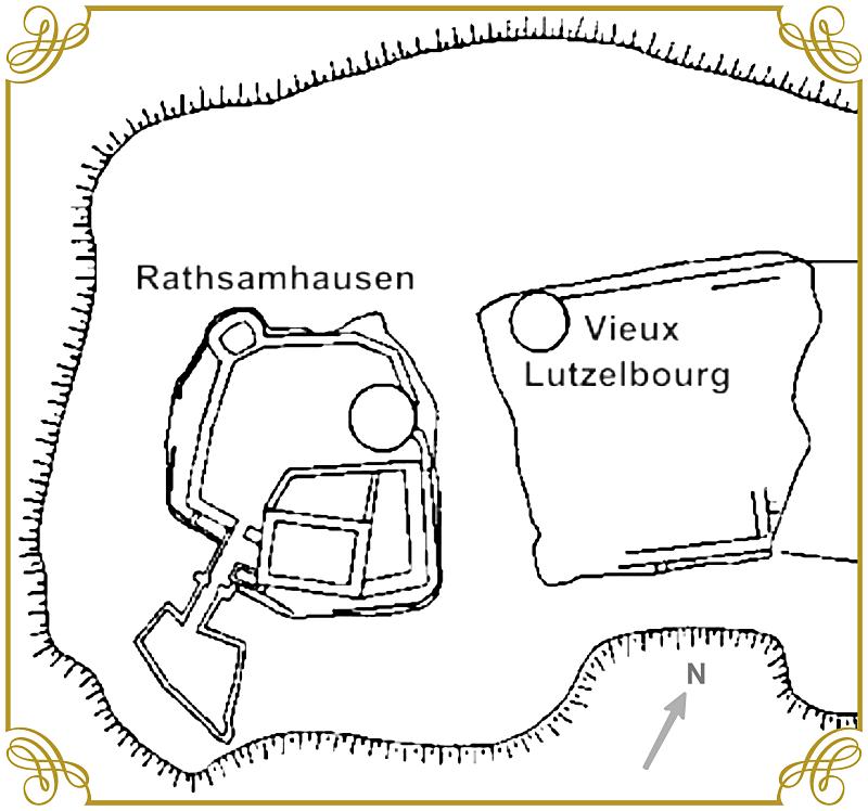 Diaporama château de Rathsamhausen - Ottrott
