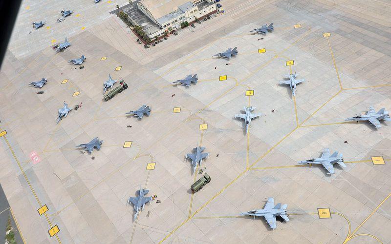 L'Ejército del Aire a organisé un important exercice de défense aérienne