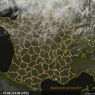 Actus du lundi 16 juillet 2012 : Amélioration sur le pays mais encore assez frais - Incendies en Corse mais aussi dans de nombreux pays du monde - violents orages aux Etats Unis