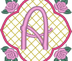 ABC aux 4 roses: la lettre A